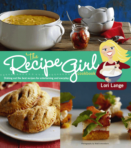 RecipeGirl Cookbook Cover RecipeGirls Banana Scones with Cinnamon Glaze & a Giveaway!