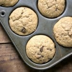 banana muffins 1 150x150 Fluffy Milk Chocolate Banana Muffins
