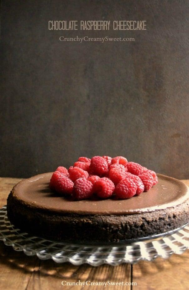 cheesecake 3a Chocolate Raspberry Cheesecake