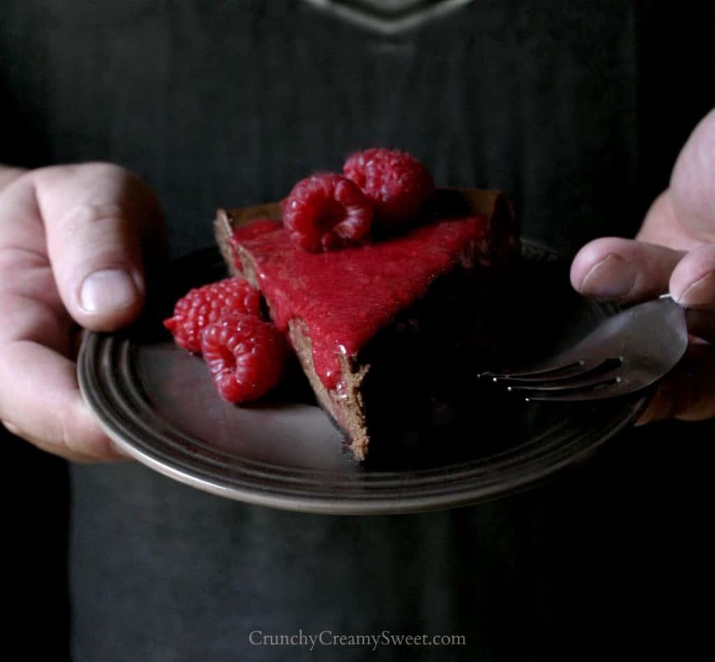 cheesecake 5 1024x948 Chocolate Raspberry Cheesecake