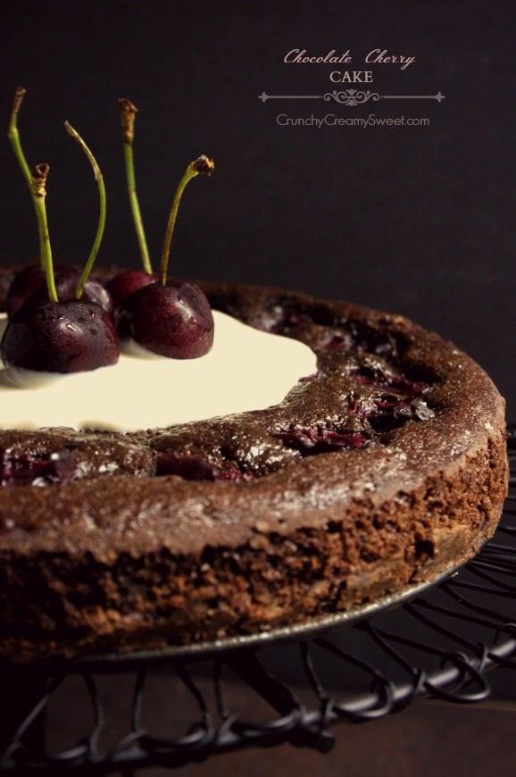 chocolate cherry cake 1 Chocolate Cherry Cake