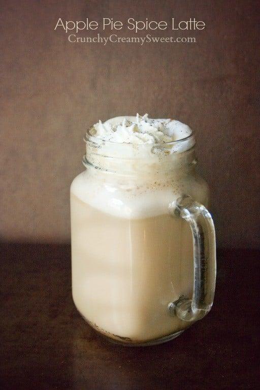 apple pie spice latte 1 Apple Pie Spice Latte Recipe