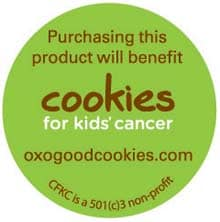 oxo sticker Peanut Butter Surprise Chocolate Cupcakes #OXOGoodCupcake