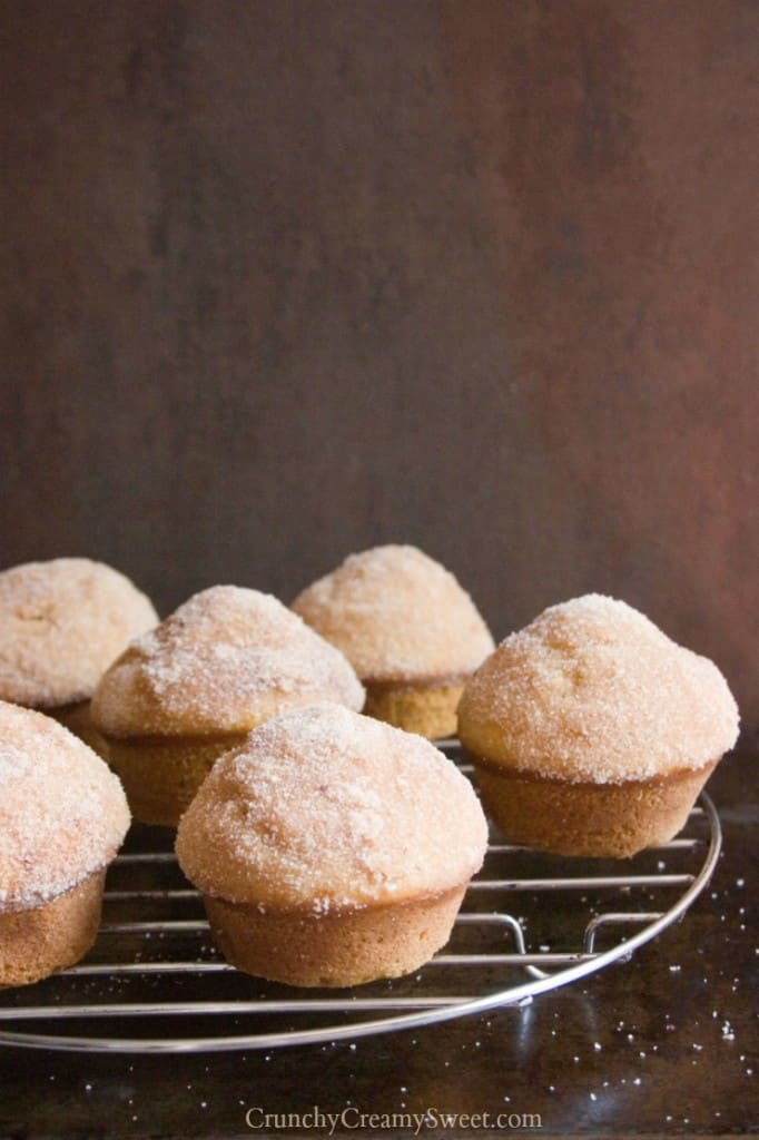 donut muffins with cinnamon sugar coating 682x1024 Cinnamon Sugar ...