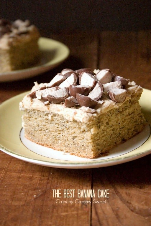 banana cake 1 The Best Banana Cake Recipe