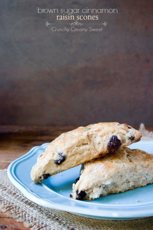 raisin scones 1 Snickerdoodle Scones