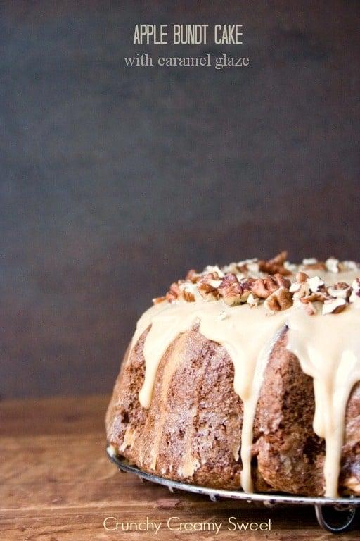 apple bundt cake 3 Apple Bundt Cake