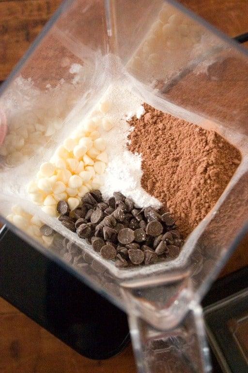 blendtec 5 Homemade Hot Chocolate Mix
