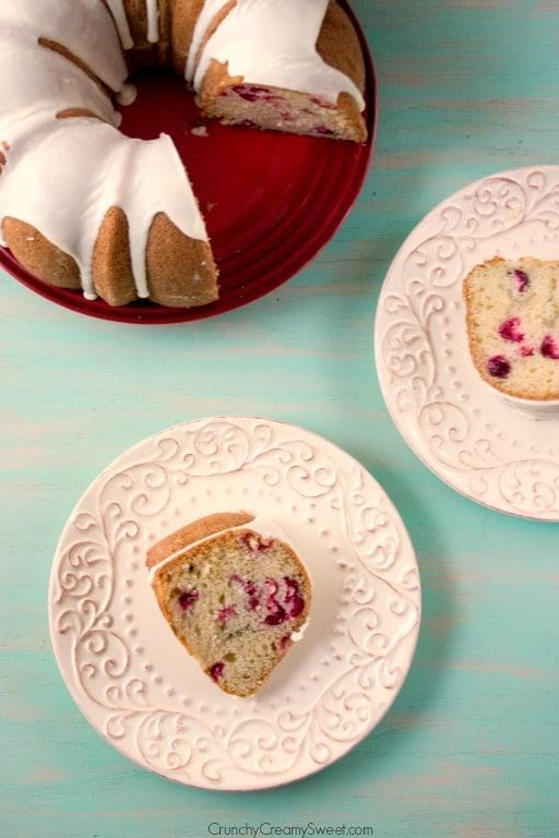 cranberry bundt cake 5 Cranberry Bundt Cake with White Chocolate Glaze Recipe