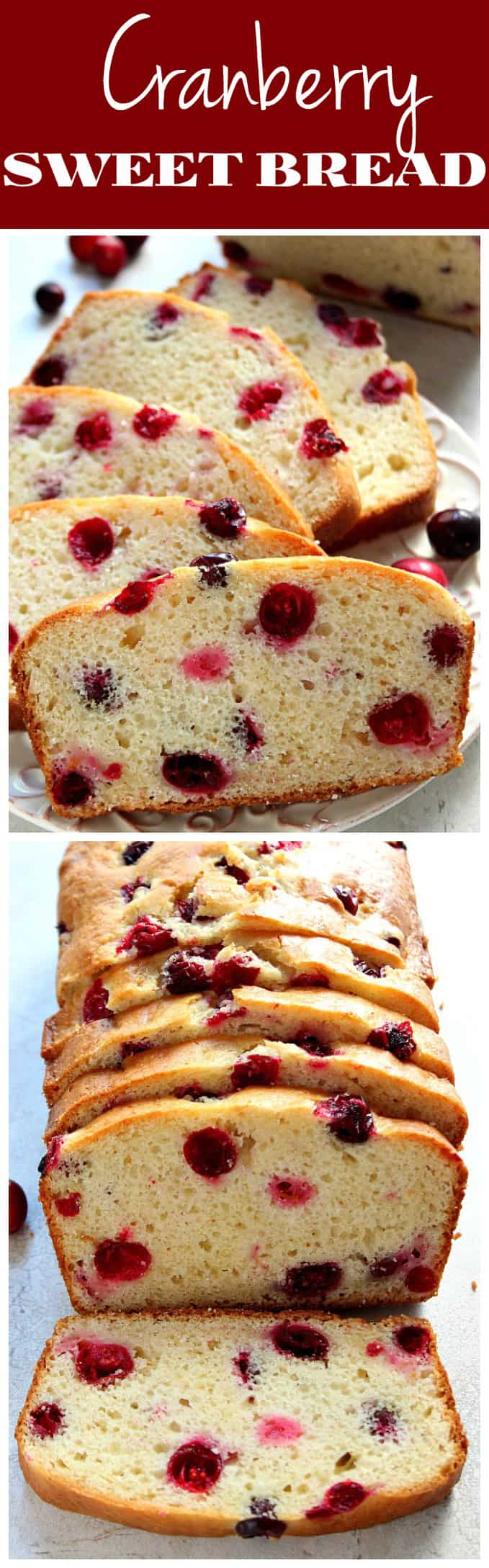 cranberry sweet bread recipe long1 Cranberry Bread Recipe