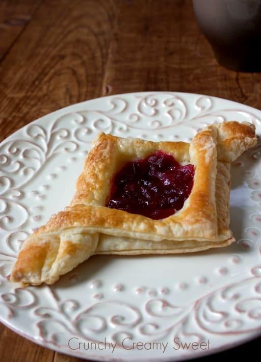 diamond pastry 2 Cranberry Jam Diamond Pastry