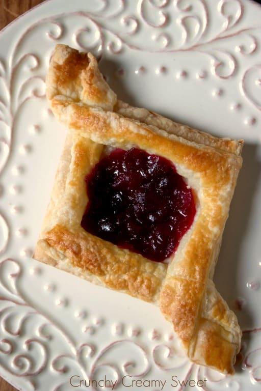 diamond pastry 3 Cranberry Jam Diamond Pastry