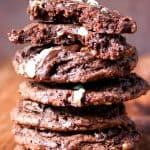 Andes Chocolate Fudge Cookies a 150x150 Andes Mint Chocolate Fudge Cookies Recipe