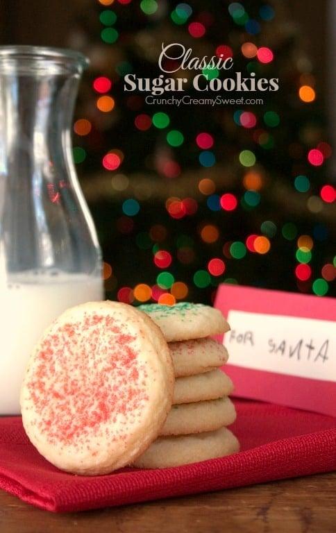 Classic Sugar Cookies Classic Sugar Cookies Recipe