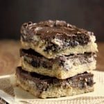 Frosted Chocolate Chip Yogurt Bars 150x150 Brownies and Bars