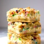 Funfetti Cheesecake Sugar Cookie Bars from crunchycreamysweet.com 150x150 Brownies and Bars