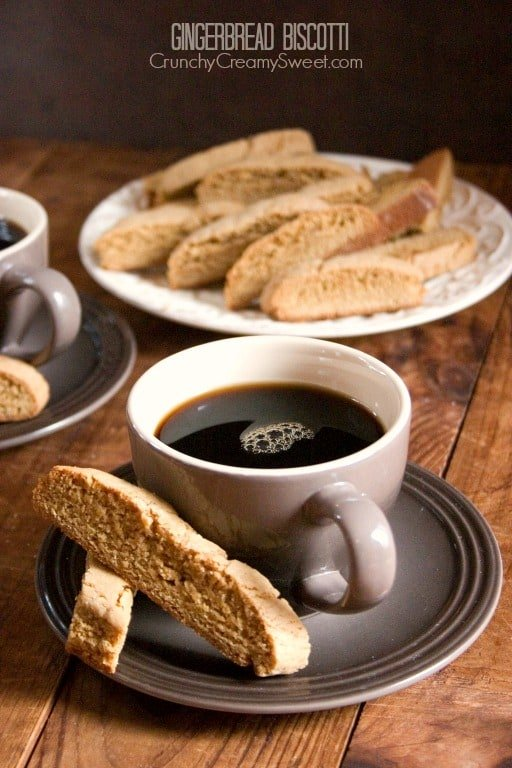 Gingerbread Biscotti Gingerbread Biscotti Recipe