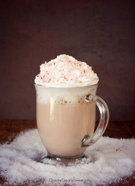 Peppermint Chocolate Latte Peppermint White Chocolate Latte Recipe