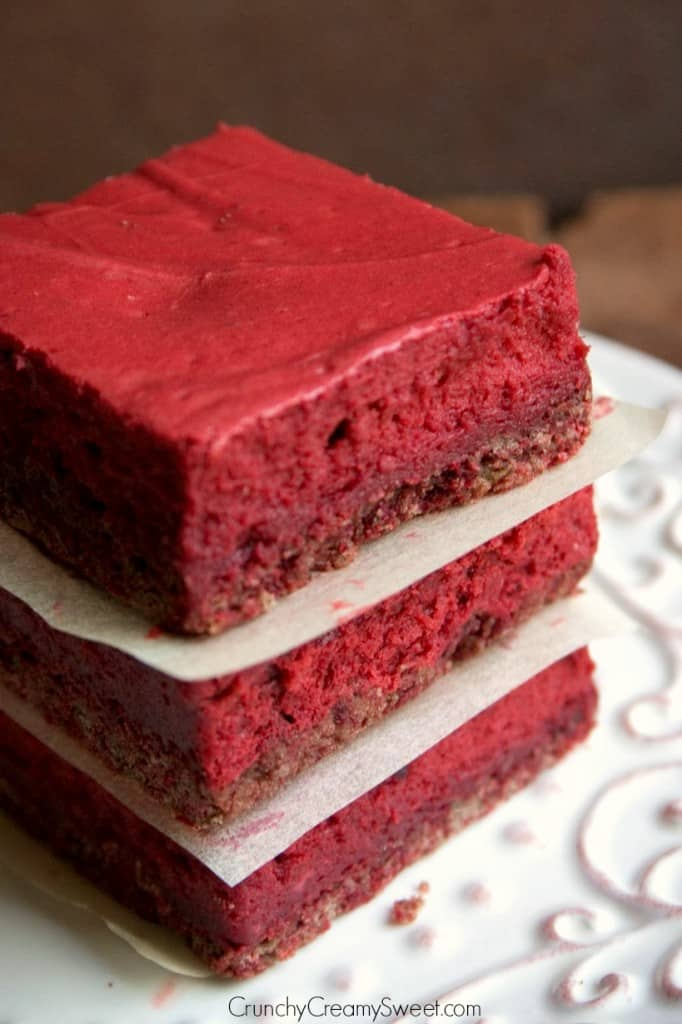 Red Velvet Bars 682x1024 Red Velvet Cheesecake Bars Recipe