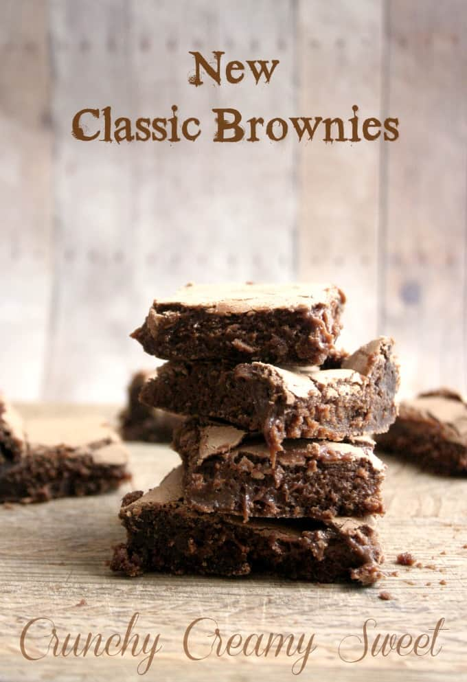 classic brownies  Homemade Fudge Brownies Recipe