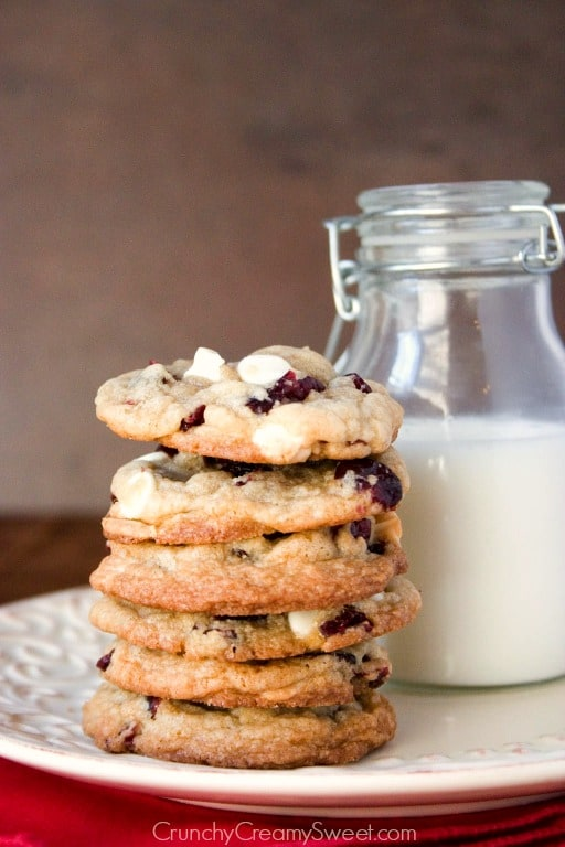 cranberry cookies with white chocolate White Chocolate Cranberry ...