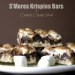 smores bars 150x150 SMores Krispies Bars