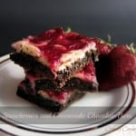 strawberries and cheesecake bars 150x150 Brownies and Bars