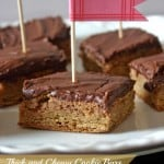 thick and chewy bars with chocolate frosting 150x150 Brownies and Bars