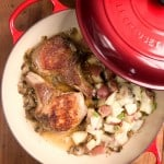 Braised Pork Chops 150x150 Braised Pork Chops with Lemon Garlic Red Potatoes Recipe