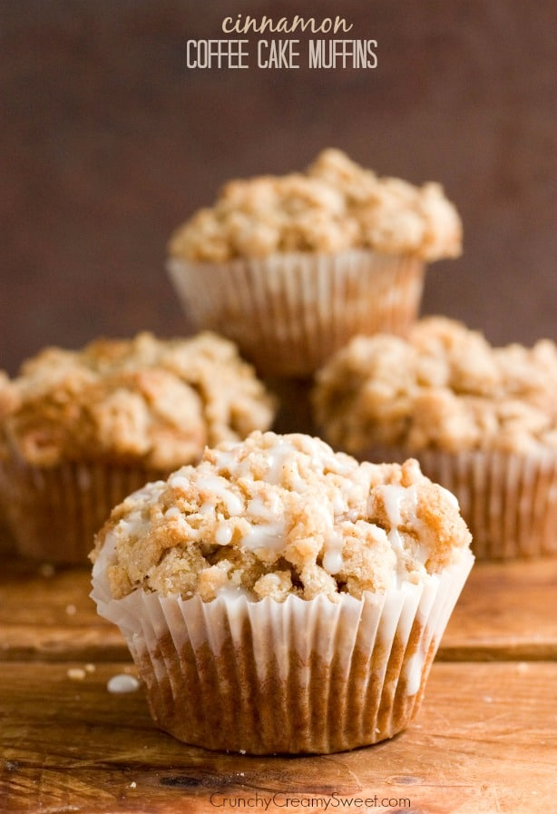 Cinnamon Coffee Cake Muffins Recipe from crunchycreamysweet.com  Cinnamon Coffee Cake Muffins Recipe Card