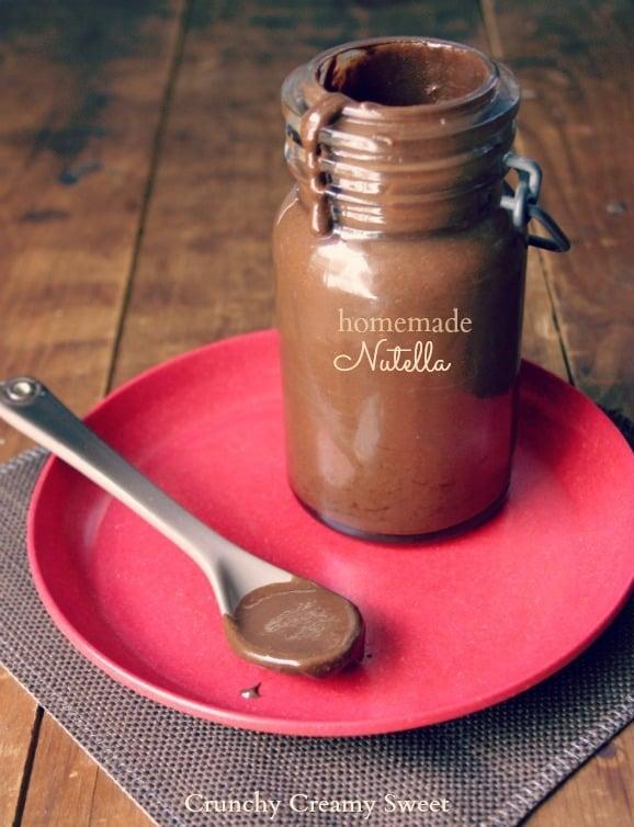 Homemade Nutella Homemade Nutella Recipe Card
