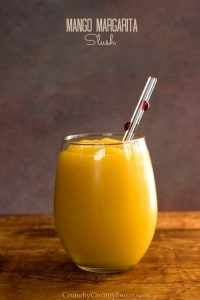 Mango Margarita Slush Recipe from crunchycreamysweet.com  200x300 15 Best Game Day Recipes