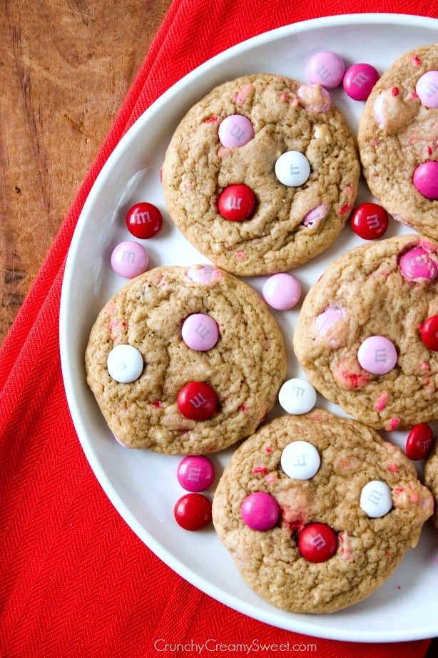 Soft Cookies Soft M&M Cookies Recipe