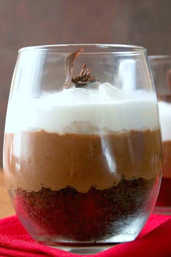 chocolate mousse trifle a Chocolate Trifle For Two Recipe