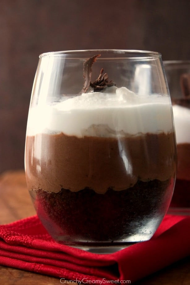chocolate mousse trifle Chocolate Trifle For Two Recipe