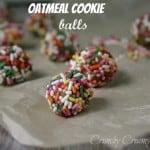 oatmeal cookie balls 150x150 Cookies