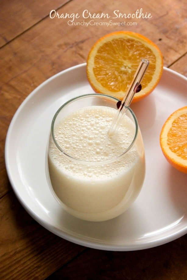 orange cream smoothie Orange Cream Smoothie