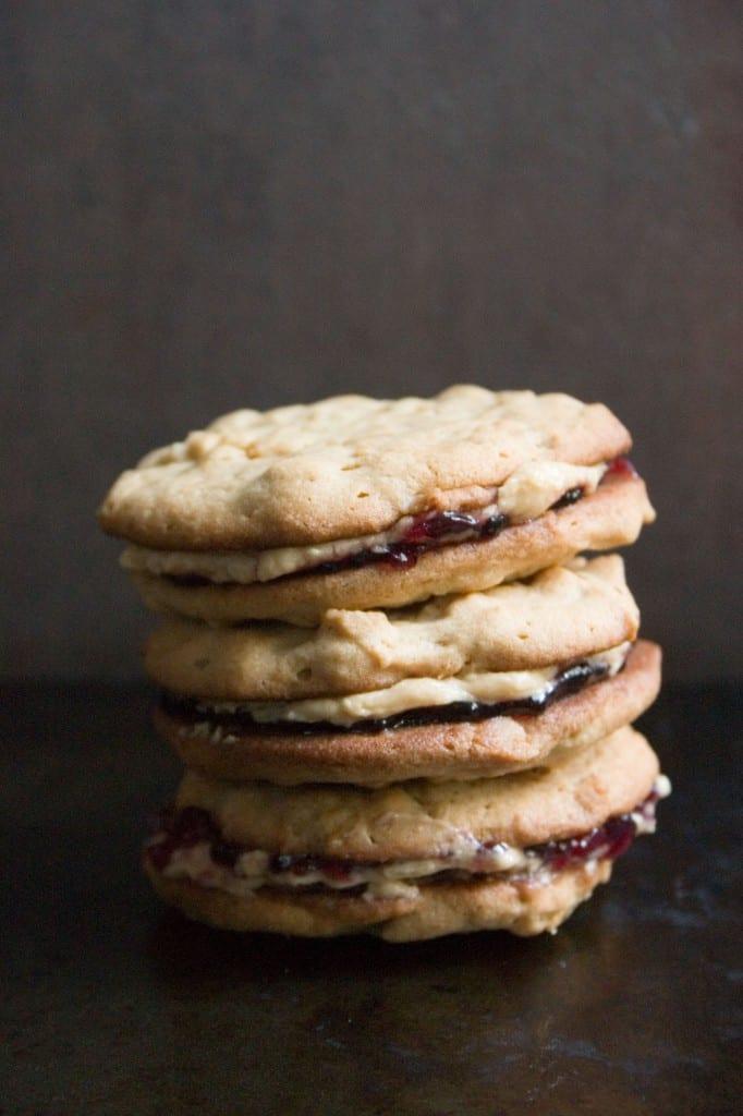 pbj cookies 1 682x1024 Chewy No Bake Granola Bars