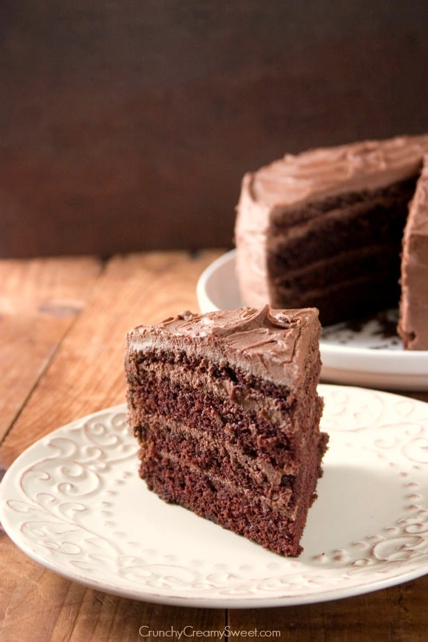 4 layer chocolate cake The Best Chocolate Cake