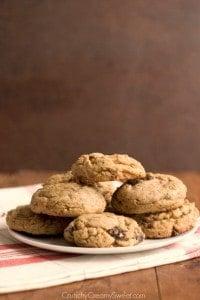 Dark Chocolate Orange Cookies 2 200x300 Toasted Coconut and Dark Chocolate Chunk Cookies