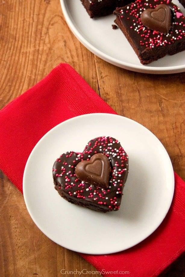 ganache brownies Fudge Brownies with Chocolate Ganache