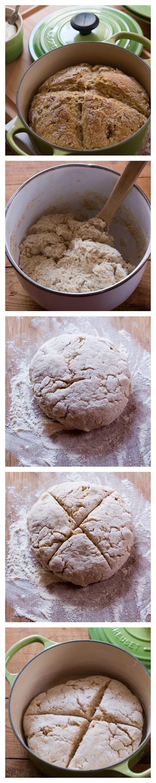 Garlic and Herb Irish Soda Bread Step by Step Irish Soda Bread