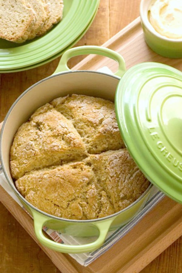 Garlic and Herb Irish Soda Bread a Garlic and Herb Irish Soda Bread