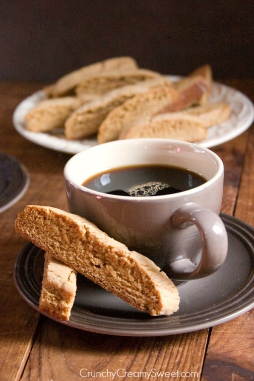 Gingerbread Biscotti Recipe Sunday Morning Coffee and 10 Sweet Treats to Enjoy with it!