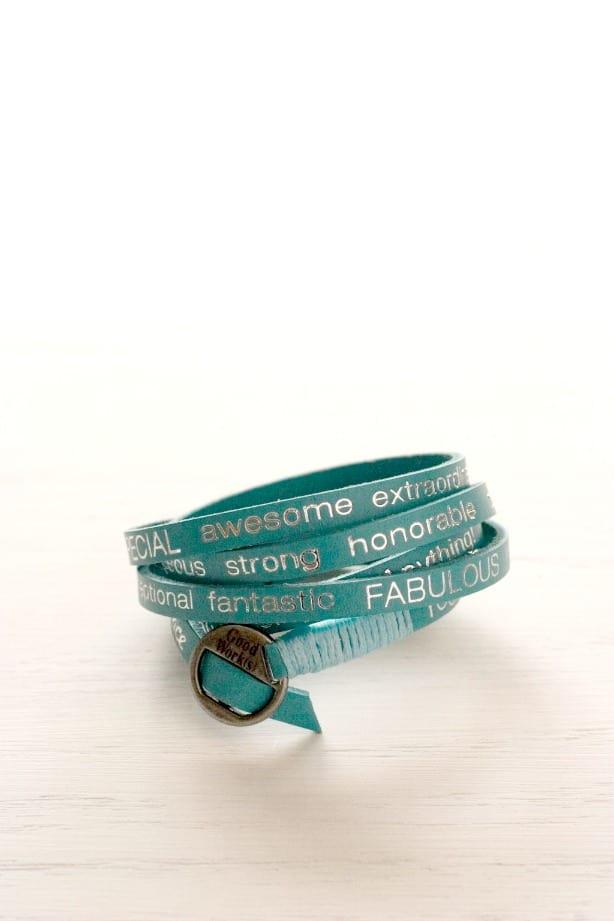 Good Works Bracelet Blue Good Work(s) Make a Difference Bracelets Giveaway!