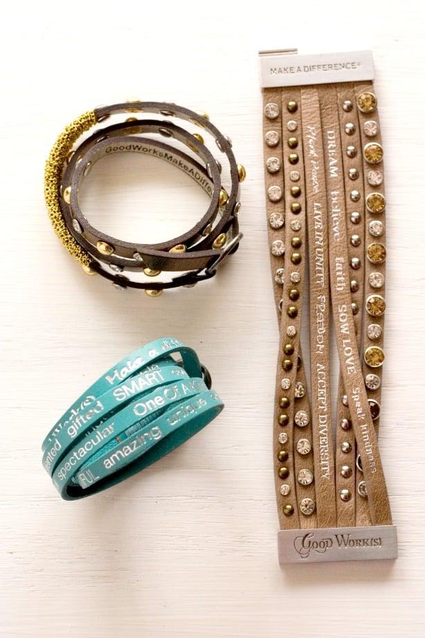 Good Works Bracelets Cuff Good Work(s) Make a Difference Bracelets Giveaway!