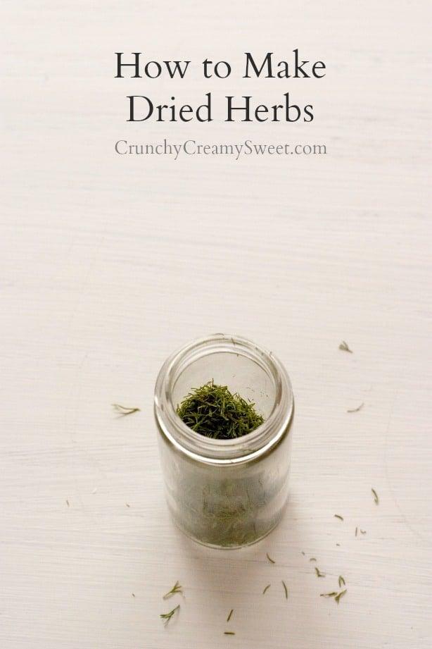 How to Make Dried Herbs How to Make Dried Herbs at Home