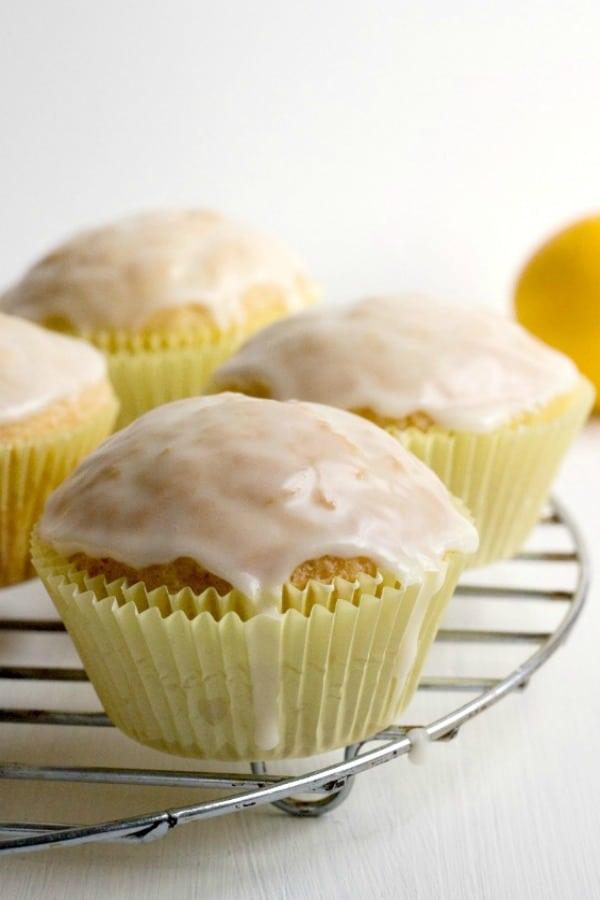 Lemon Muffins with Glaze a Glazed Lemon Muffins Recipe