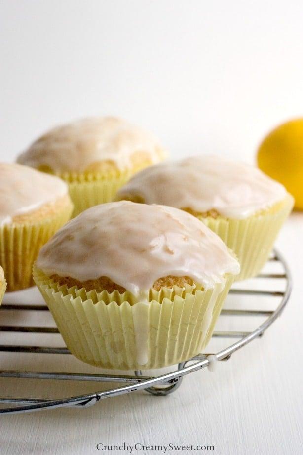 Lemon Muffins with Glaze Mini Lemon Pies