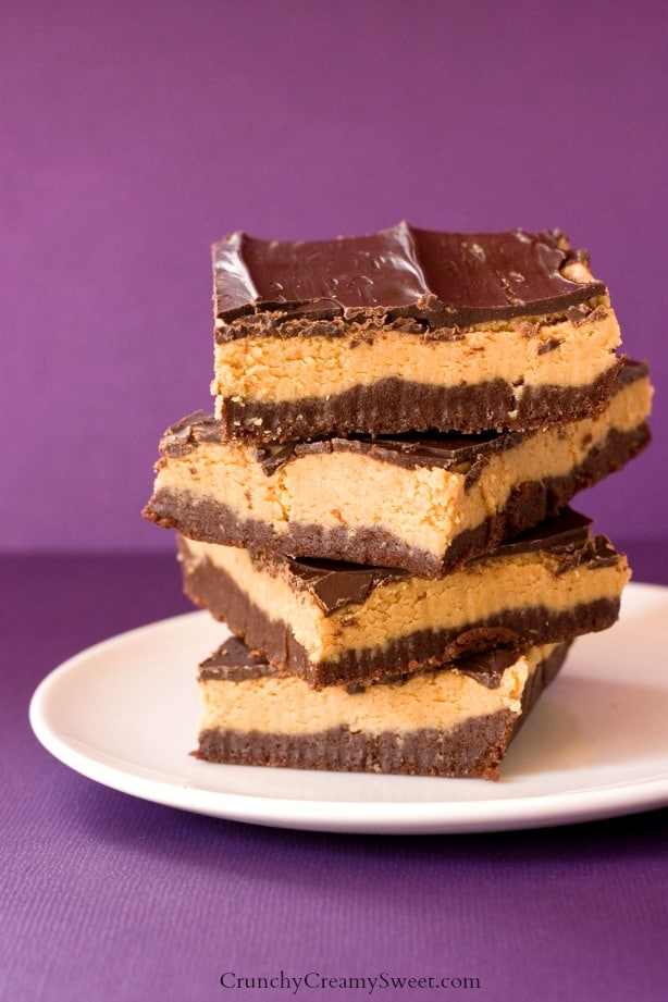 Peanut Butter Brownie Bars Peanut Butter Brownie Truffle Bars Recipe
